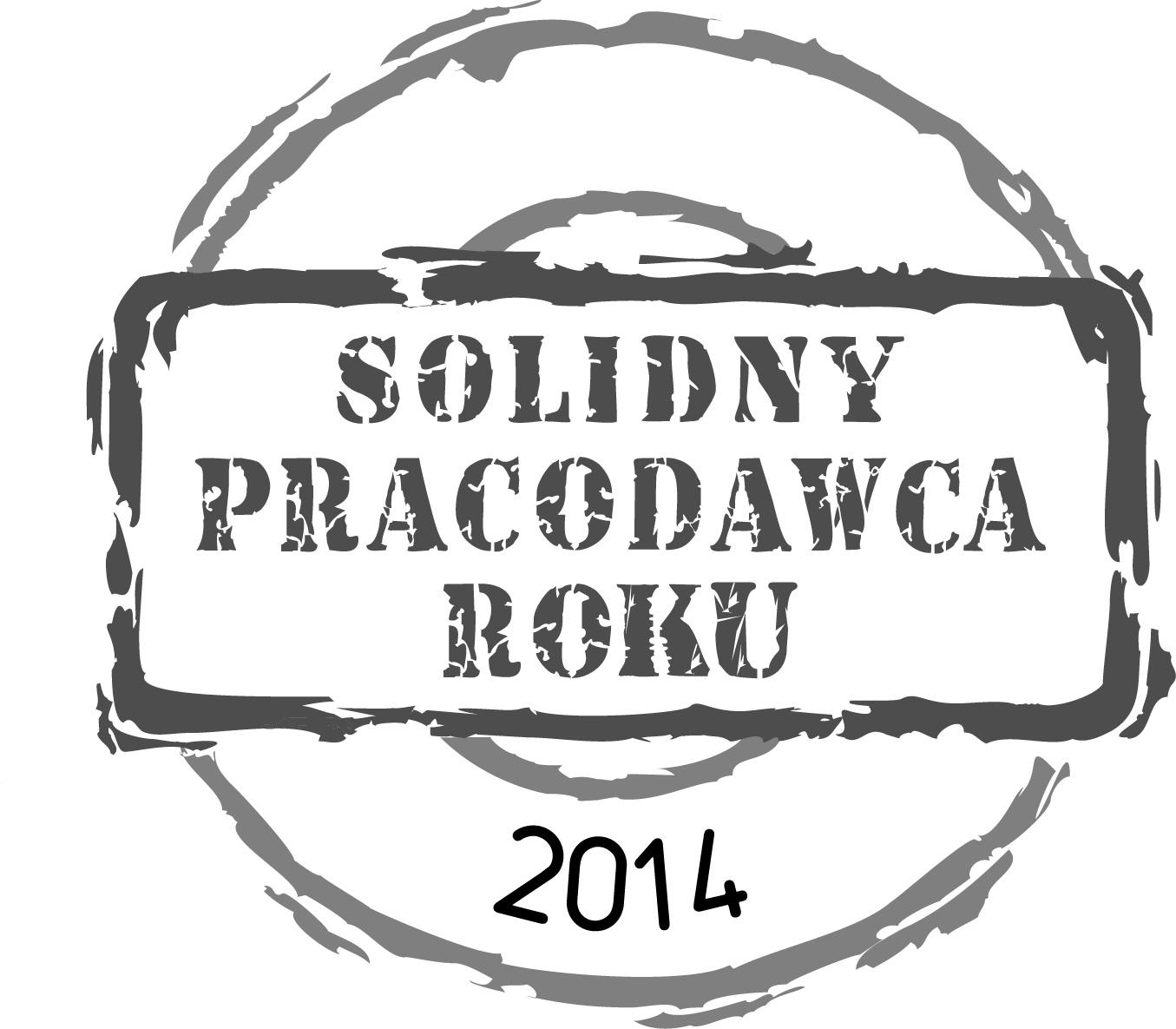 SOLIDNY PRAC ROKU 2014